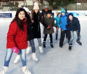 Eislaufen im Jänner 2019