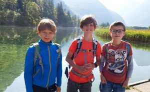 Wandertag am Almsee (Mittelschule)